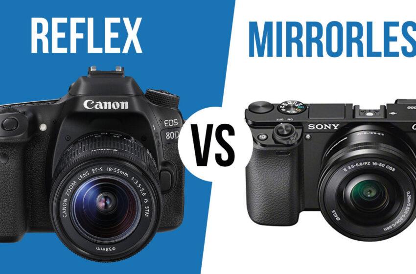 Macchine Fotografiche: Differenza tra Reflex e Mirrorless